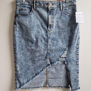 Guess Acid Wash Skirt